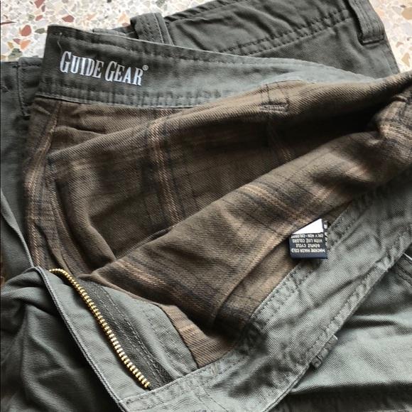 622720a83 Guide Gear Pants | Flannel Lined Cargo | Poshmark